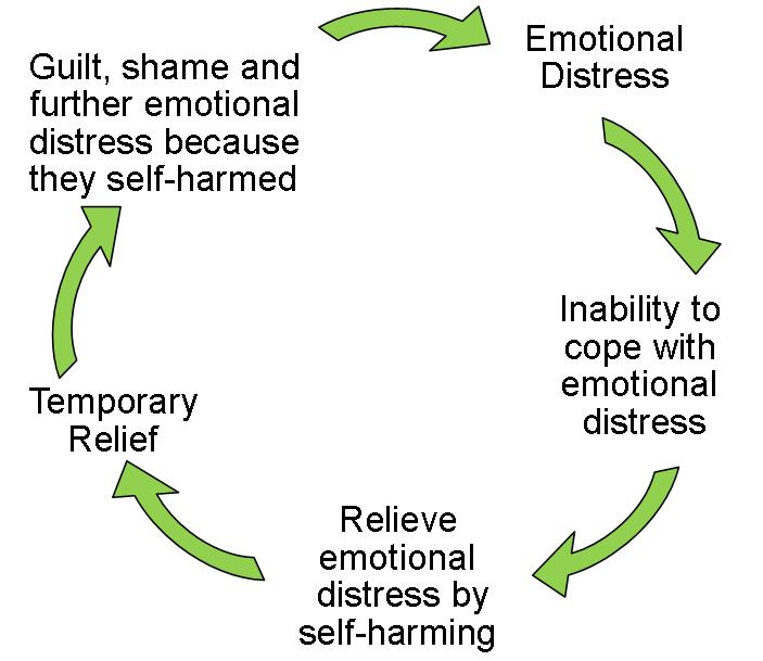 self harm cycle