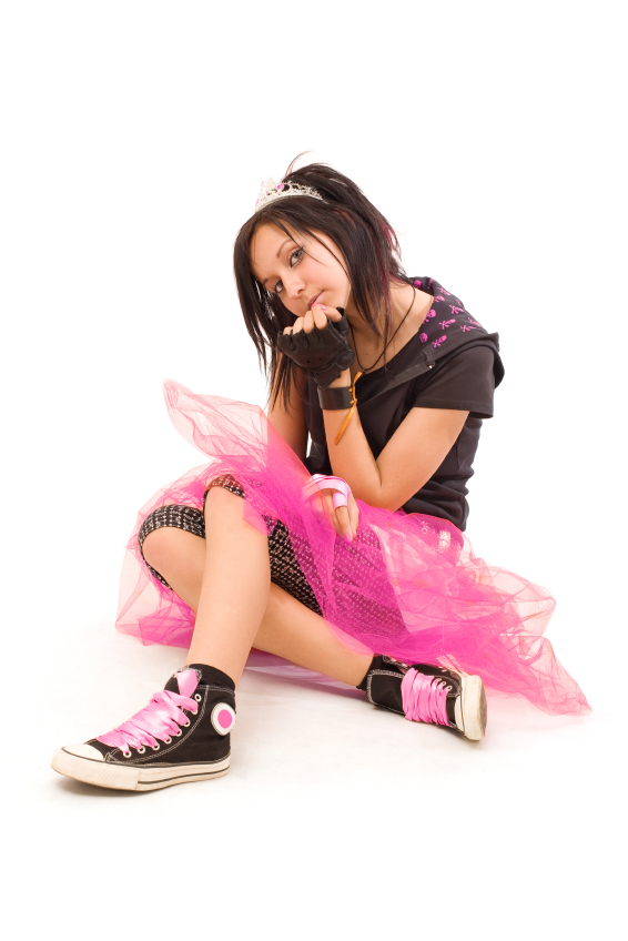 teen princess with attitude