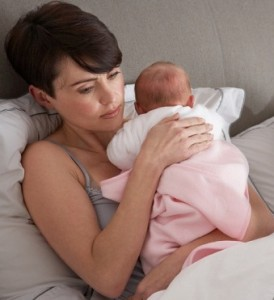 Postnatal depression follows Birth Trauma