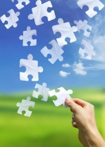organisational psychology - puzzle pieces