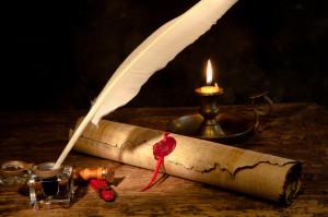 the golden rule parchment