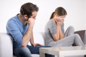 couple at odds - relationship abuse