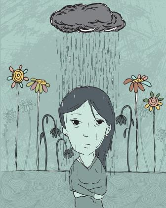 depression illustration