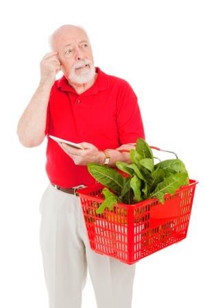 Senior Shopper – Forgetful