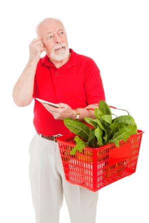 Senior Shopper – Forgetful