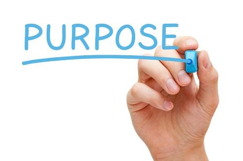 Purpose Blue Marker