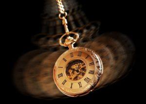 Hypnotizing pocket watch