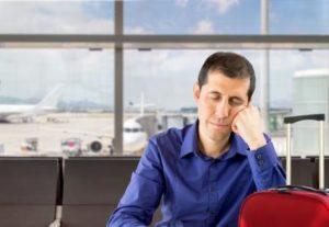 feeling bored at airport