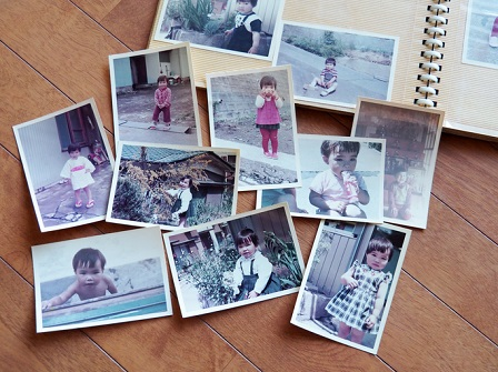 Old pictures, 70's child