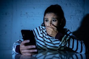 domestic violence via mobile phone